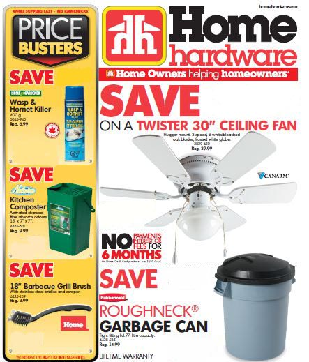 this is an image of a home hardware flyer