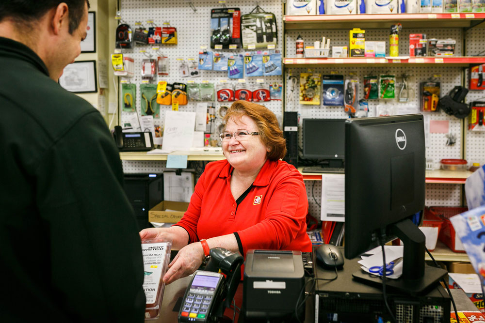 Cashier Robinson Home Hardware Barrie