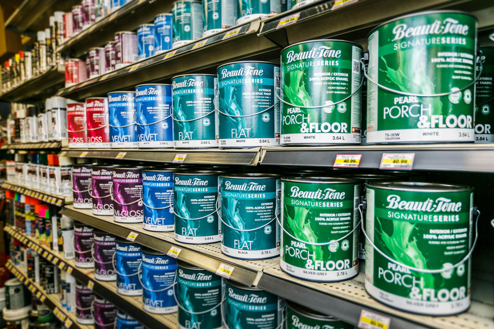 Paint At Home Hardware